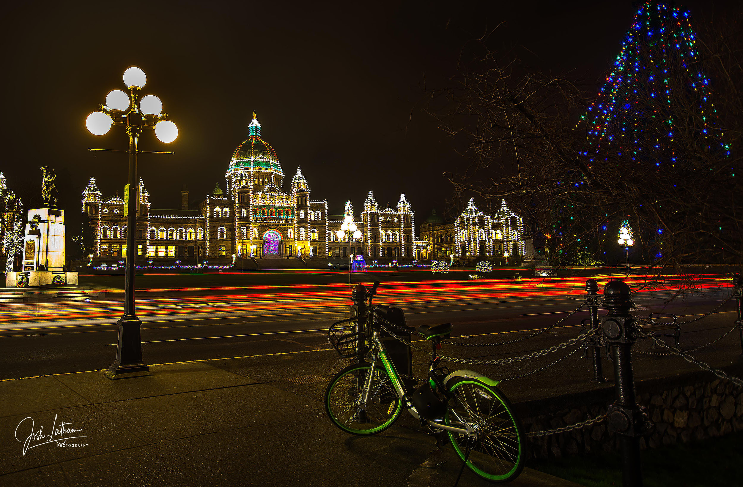 The Iconic Legislative Building in Victoria, BC, Canada