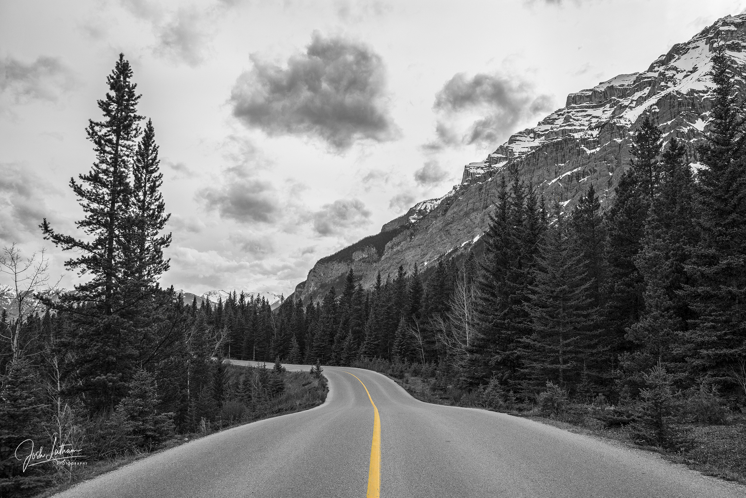 A beautiful drive through Banff National Park