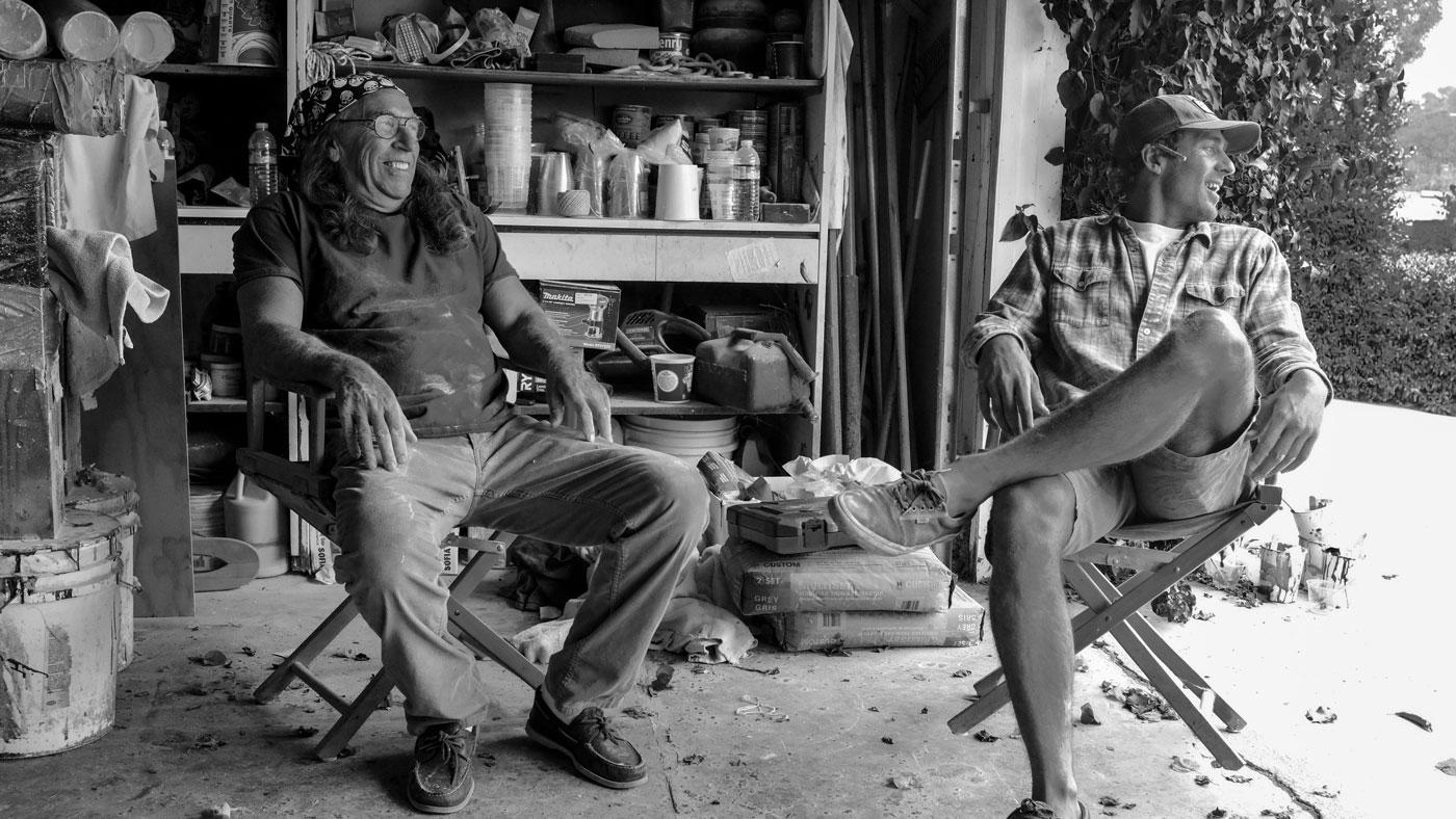 Simon Murdoch and Gregg Tally by Joey Dwyer