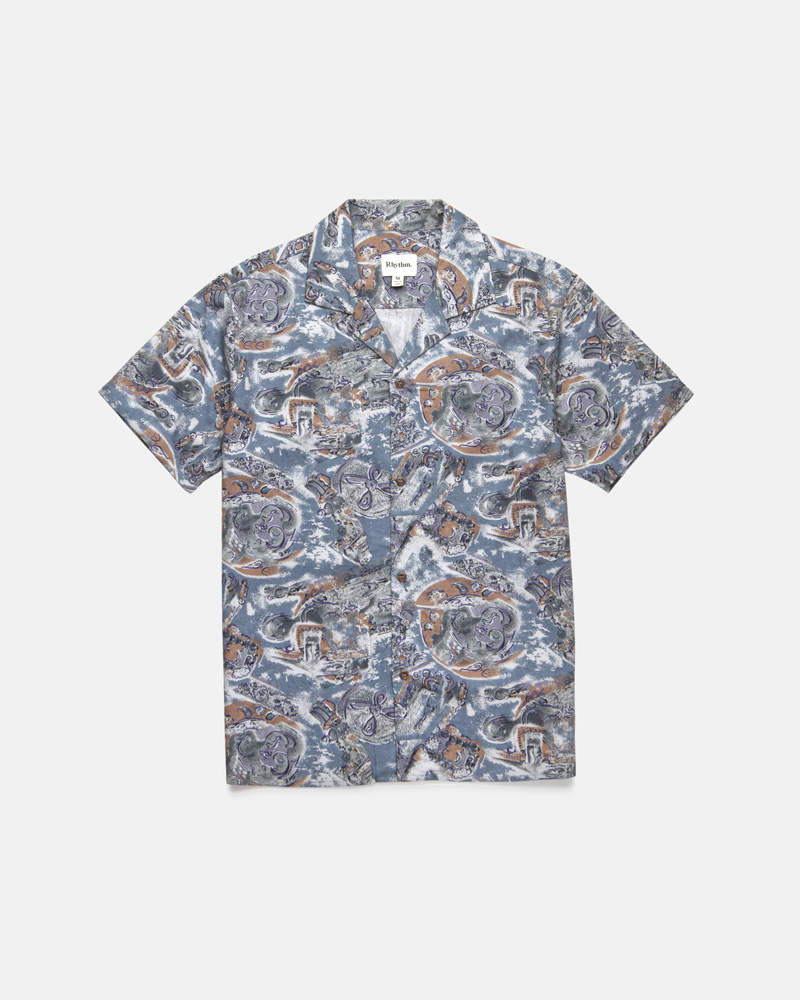 Sumatra SS Shirt Pacific Blue $79.99