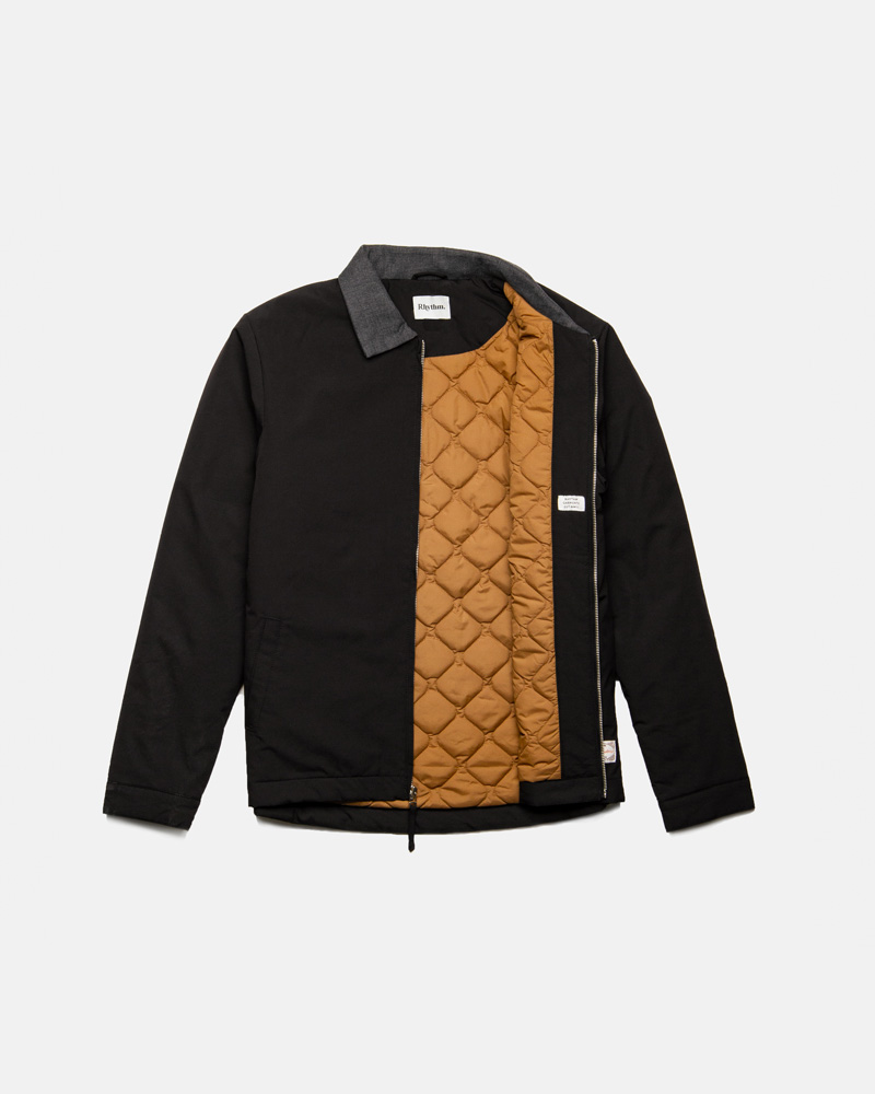James Nylon Jacket Black $179.99