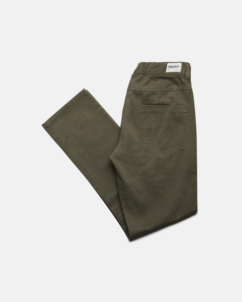 Jean Pant Olive $79.99