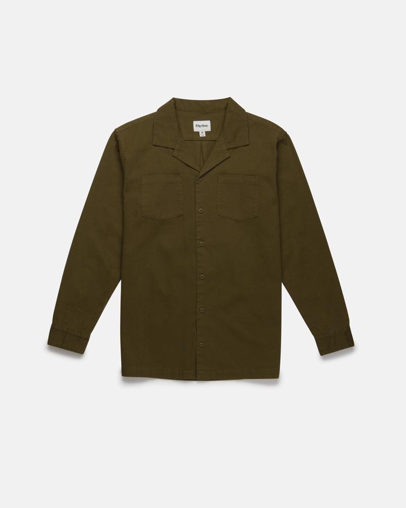 Military LS Shirt Olive $89.99