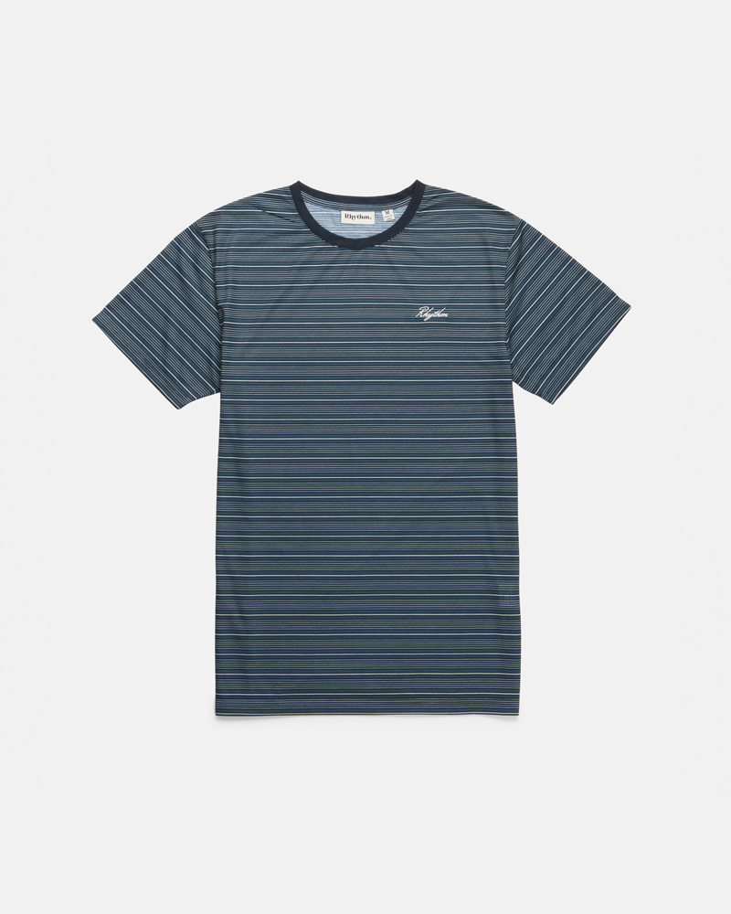 Vintage Stripe T-Shirt Teal $49.99