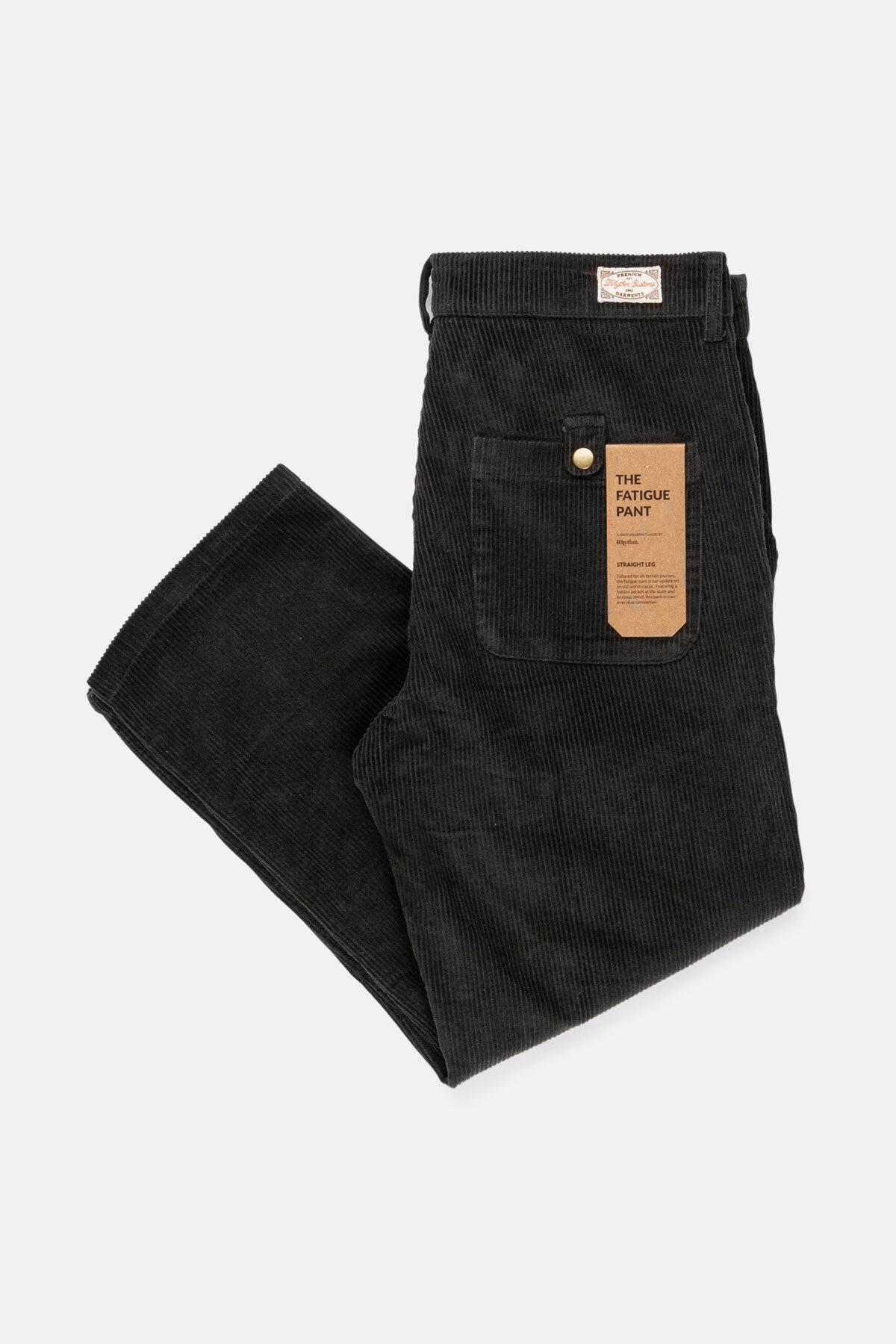Corduroy Fatigue Pant Charcoal $89.99