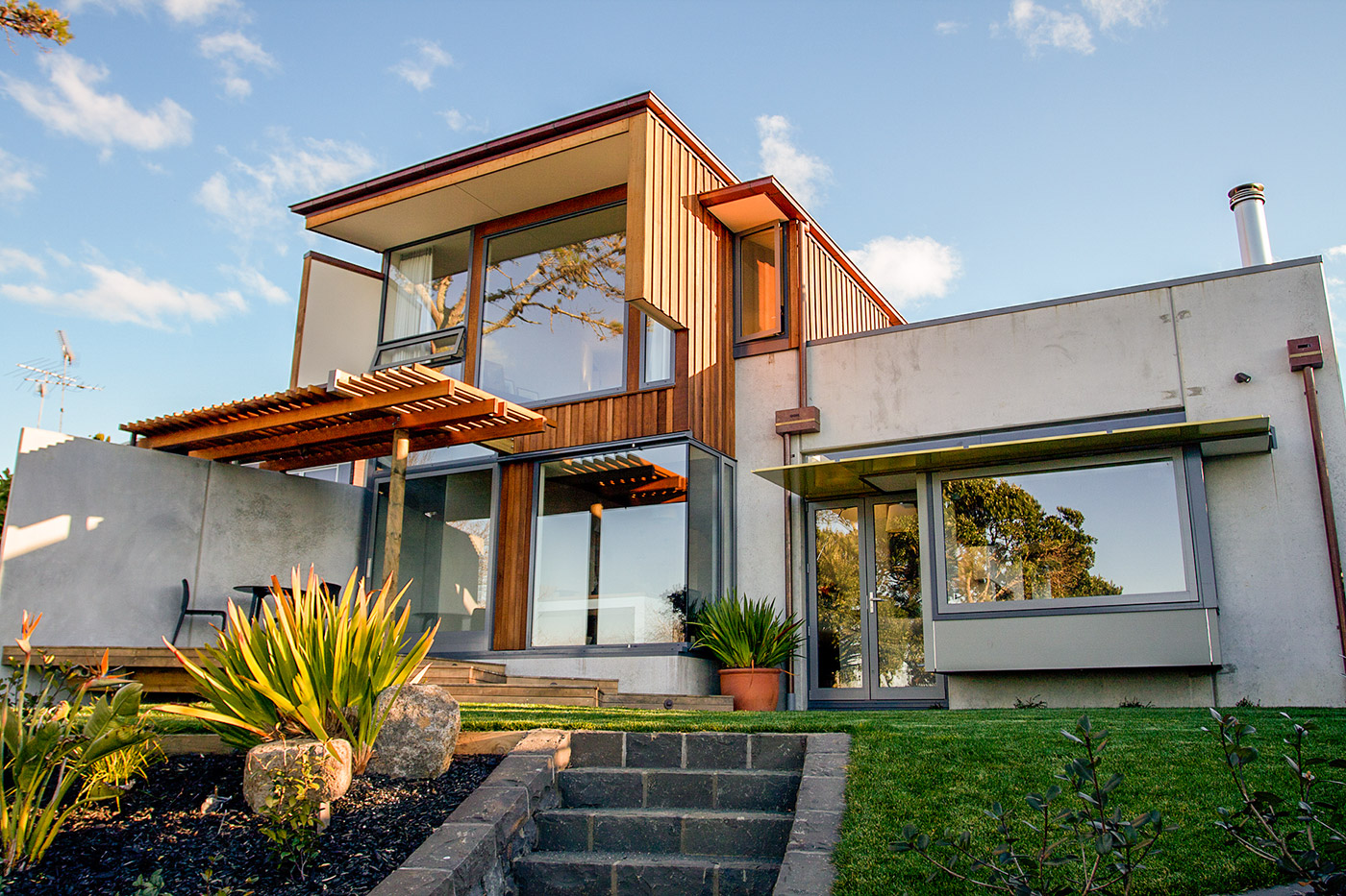 Lake Pupuke House, Takapuna Mitchell & Stout architects 8.jpg