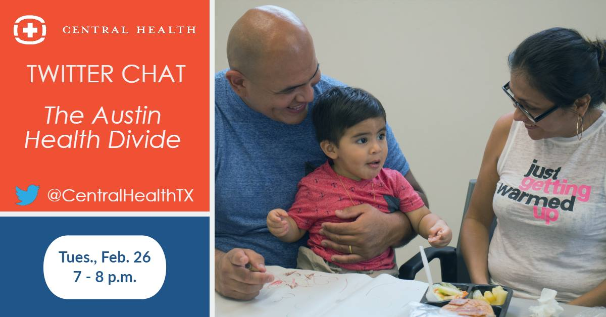 Twitter Chat: The Austin Health Divide