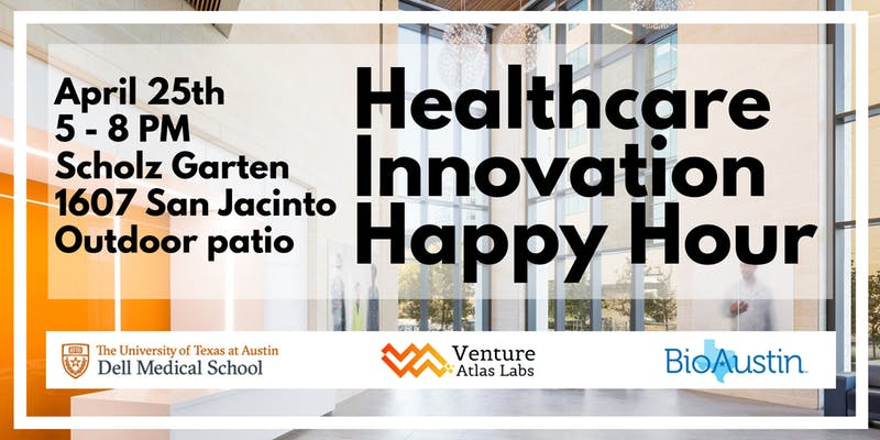 healthcare innovation happy hour