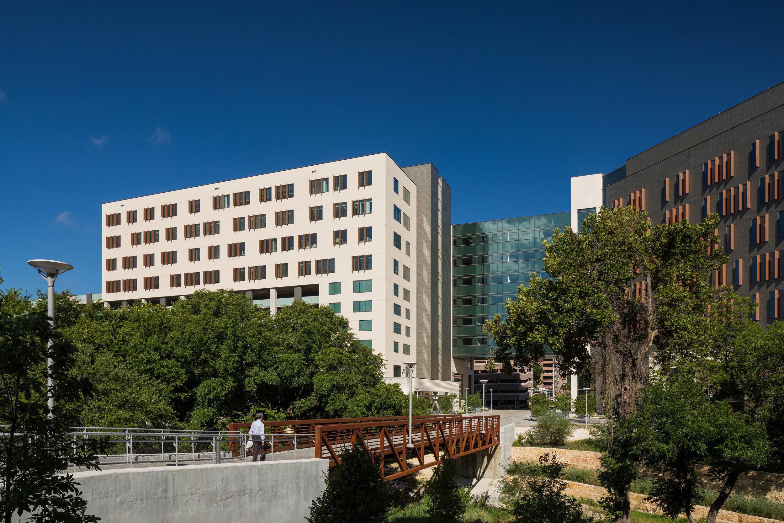 Waller Creek,  Health Transformation Building, Health Discovery Building.jpg