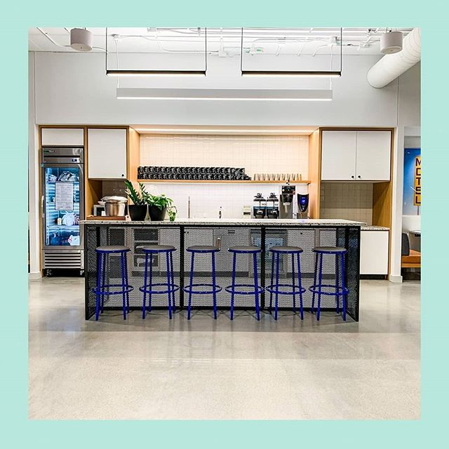 #ONSITE at @wework in Minneapolis Uptown. TOOB Stools by @division_12 Photo cred @darcybud . Last day to see the new Division 12 Collection at @idstoronto 👌👍👊 . . . #barstools #coworking #openoffice #contemporaryfurniture #coworker #openoffice #lovewhereyouwork #officedesign #lovewhatyoudo #cowork