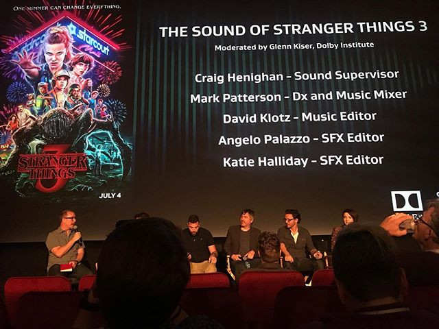 Very cool panel. Thanks so much #mixsoundforfilm2019