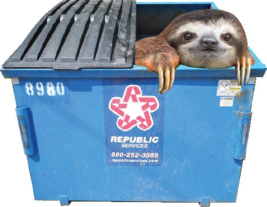 dumpstersloth