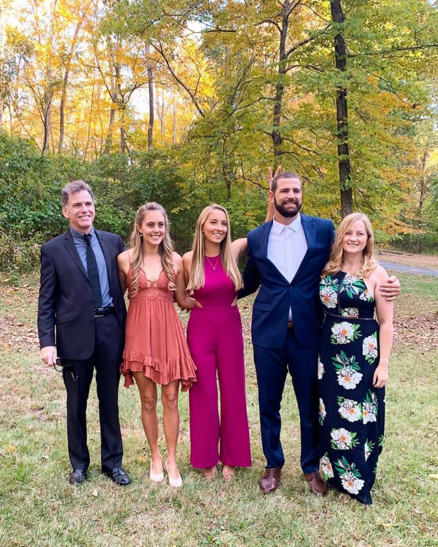 "We googled ""Top 10 things to do in Cincinnati,"" but #1 was definitely Cassie and Brian's wedding!  Such an awesome weekend celebrating these two with my dolphin crew. #promdatetosoulmate513"