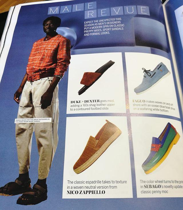Thanks @footwearnews @milan New season new trends! #fashionweek #fashionmenswear #menstore #menclothingstore #gentleman #shoes #sneakers #styles #guy #man #fresh #modernclassics #septemberissue
