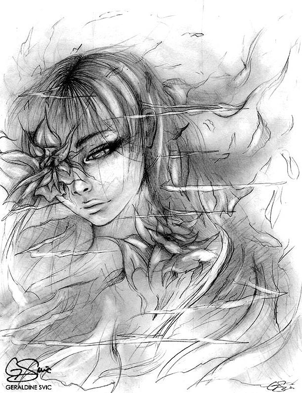 "Diminution  Sketch  ""Diminution Sketch"" by Geraldine Svic."