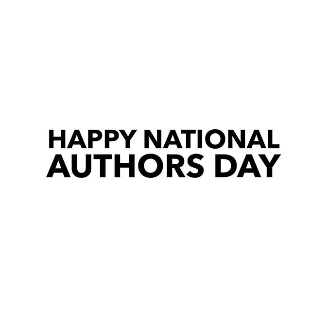Happy National Author's Day! . We want to thank all the amazing women that keep language recorded and imaginations full of wonder. . . . #read #reading #woc #women #femaleauthors #author #nationalauthorsday