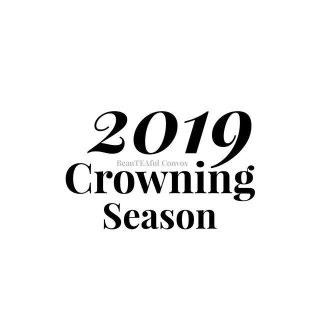 It's crowning season. #QueensDrinkTea