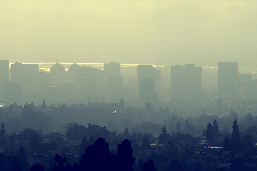 Rising greenhouse gas emissions -