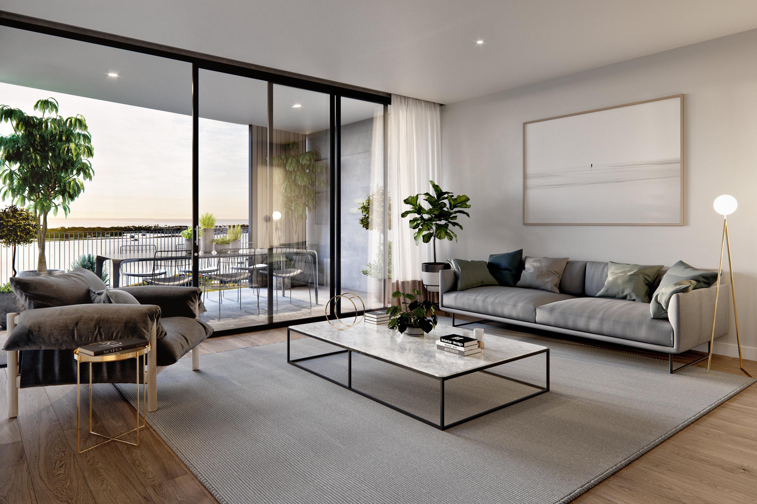 Marine Quarter_Living/Terrace