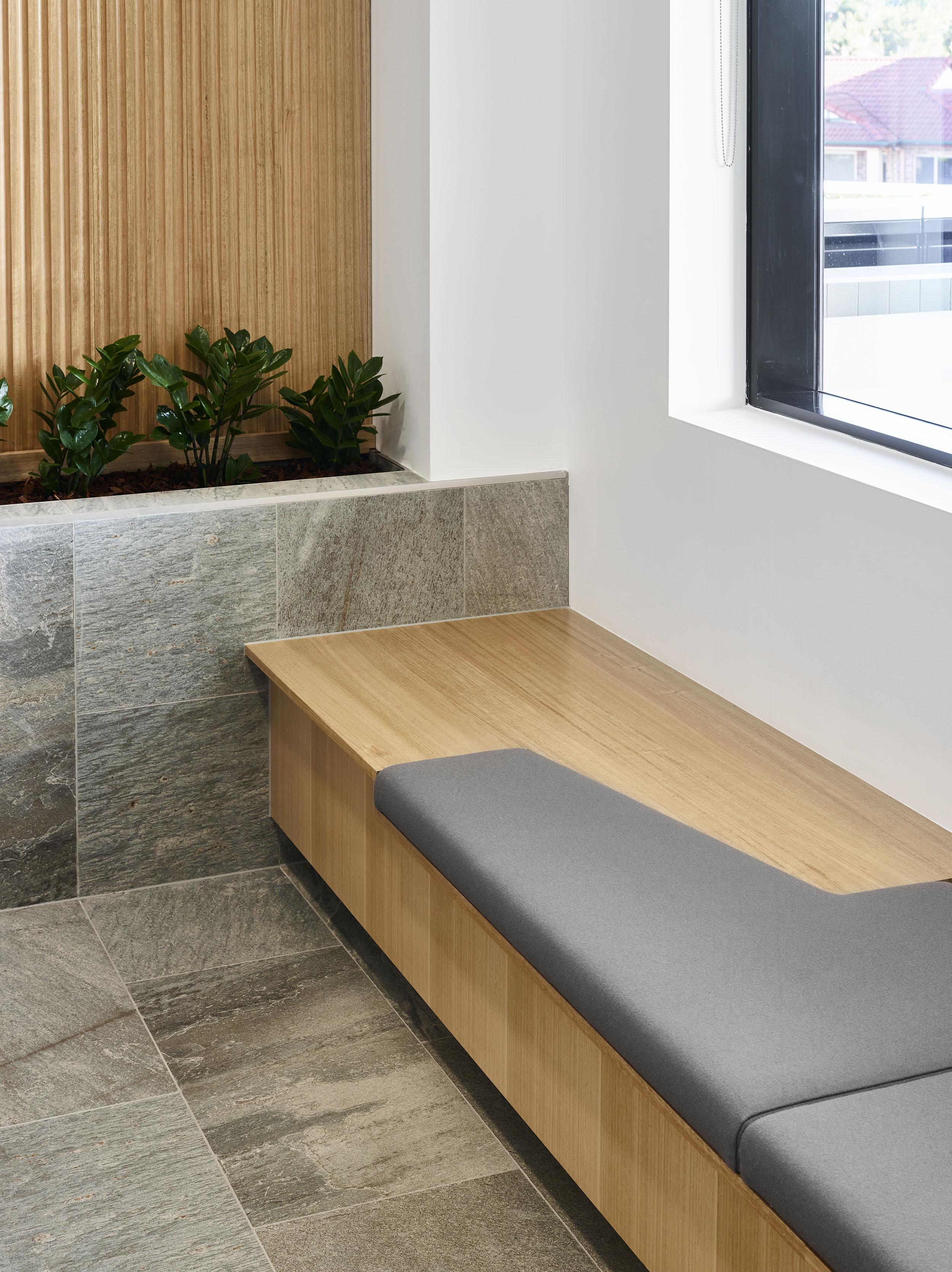College Junction_Reception Seat Detail
