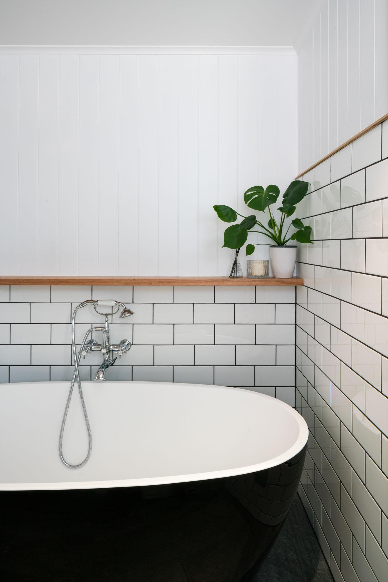 Morningside Alterations_Freestanding Bath Detail