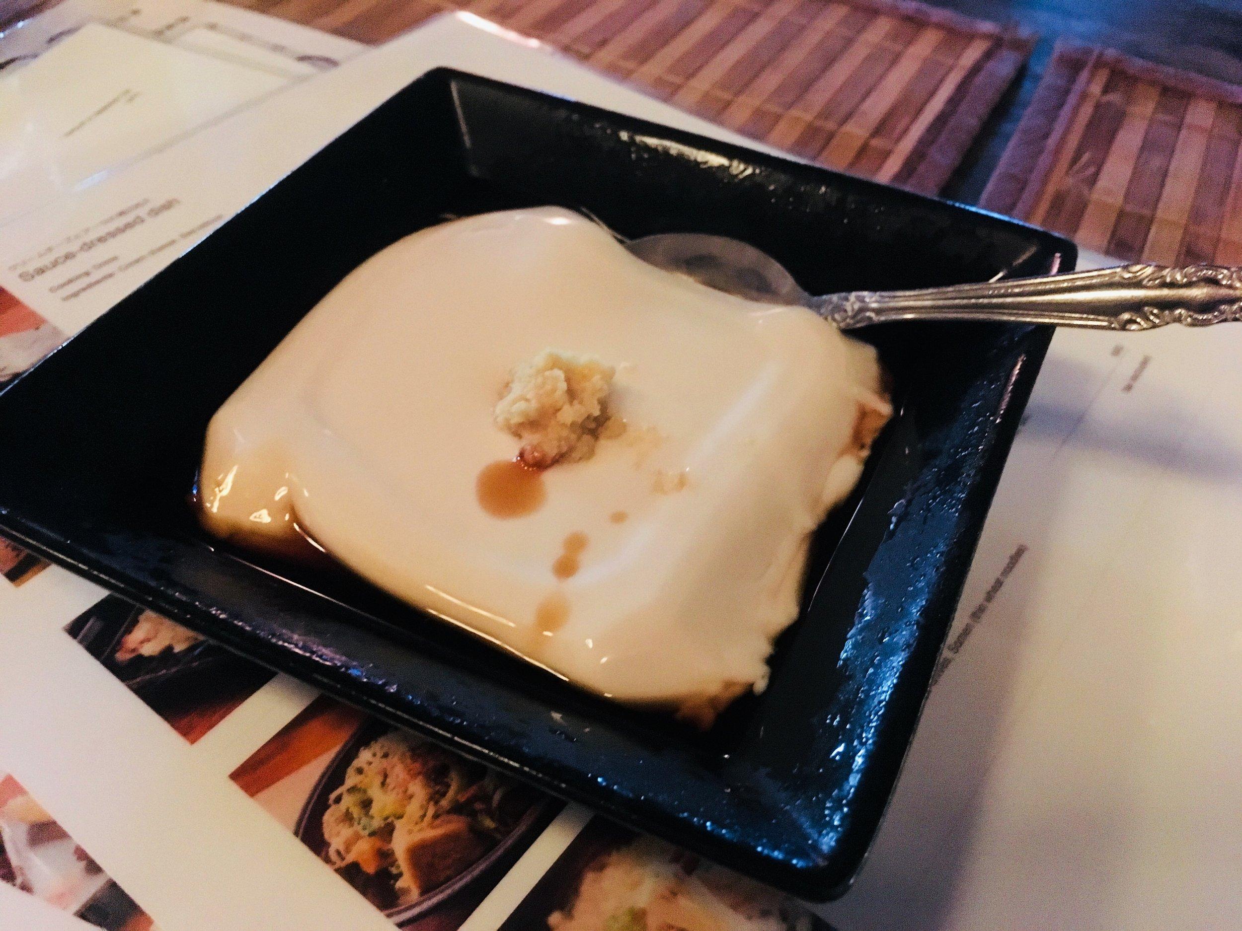 Peanut Tofu - An Okinawan Treat