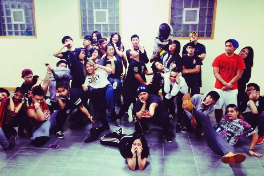 Rowan, me, and a bunch of familiar faces from Reversion Crew auditions in 2014! #reversioncrew5ever 😂😂😂(📸: Eric DeGuzman)