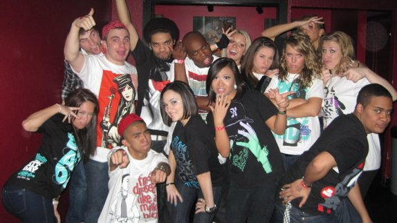 HYPNOTIQ throwback!Can you find Ish and Derrick?