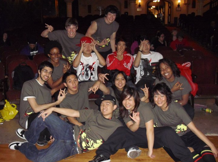 PhiNix Dance Crew's OG members x YoMama Crew (Mike Song, Victor Kim, Anthony Lee)