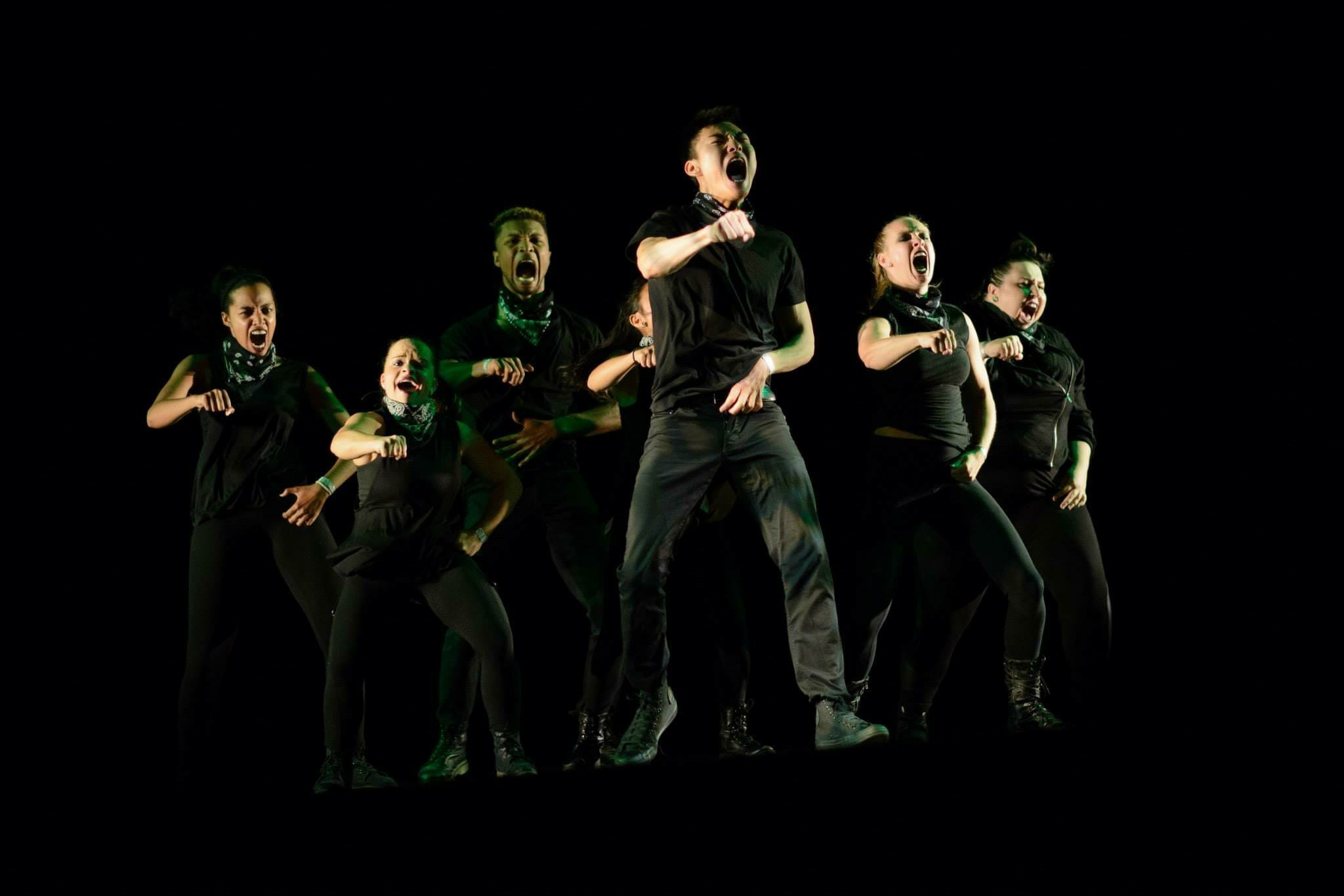 Urban Movement, co-founded by Chris, performing Chris'  Bugatti  piece.