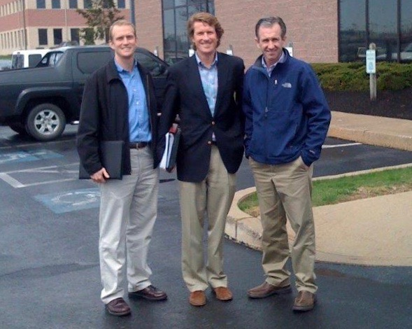 A young HK (badly in need of a hair cut) with Hope CEO Peter Greer (l) and Jeff Rutt, Hope Chairman and Founder (r)