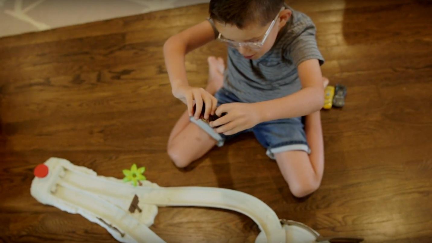 seeing an impact in children's eyewear - Ben Harrison of Jonas Paul Eyewear