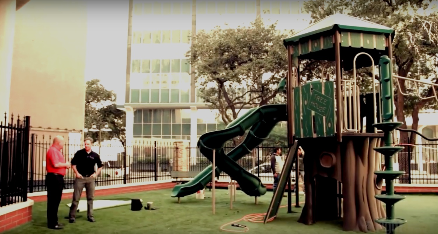 PLAYGROUNDS FOR A PURPOSE - Jay Robertson of Child's Play, Inc