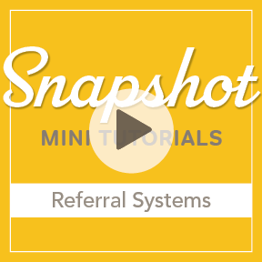 Snapshot Referral Systems for photographer