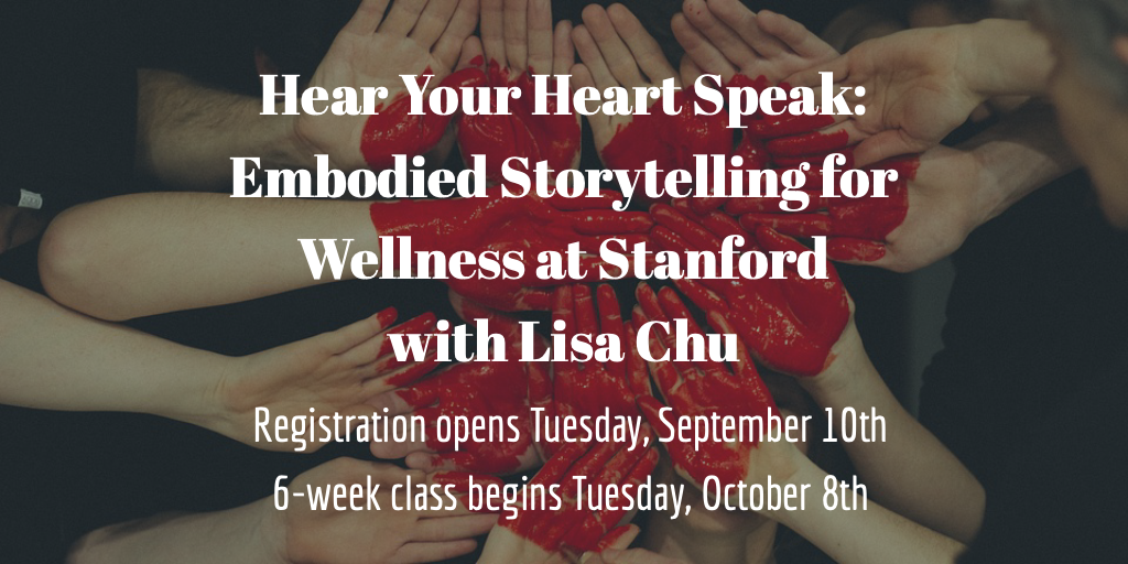 Hear Your Heart Speak Stanford registration announcement.png