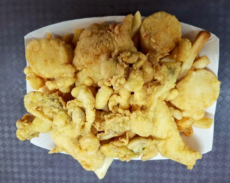 Fried Seafood Sampler