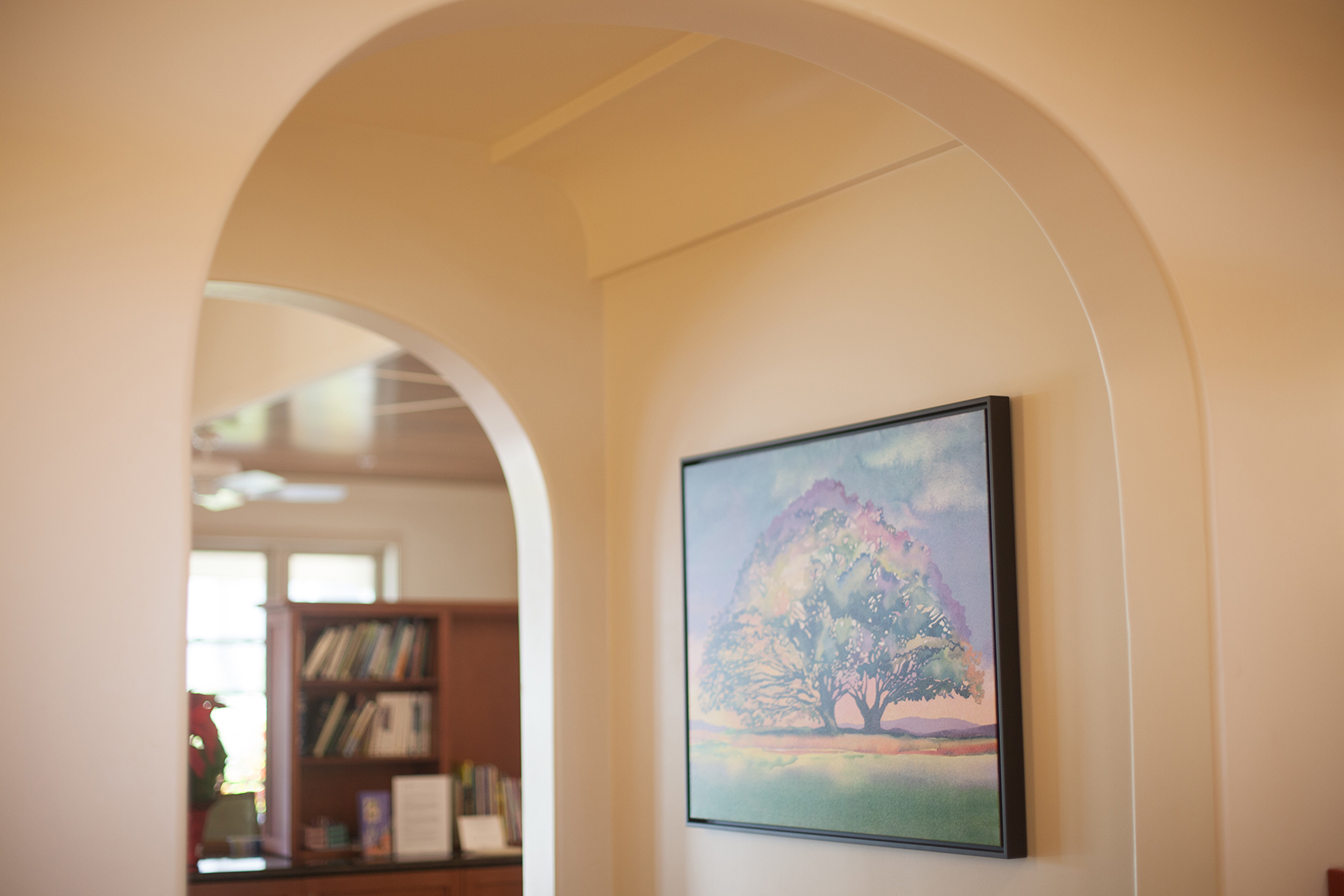 Archway to Patient Area