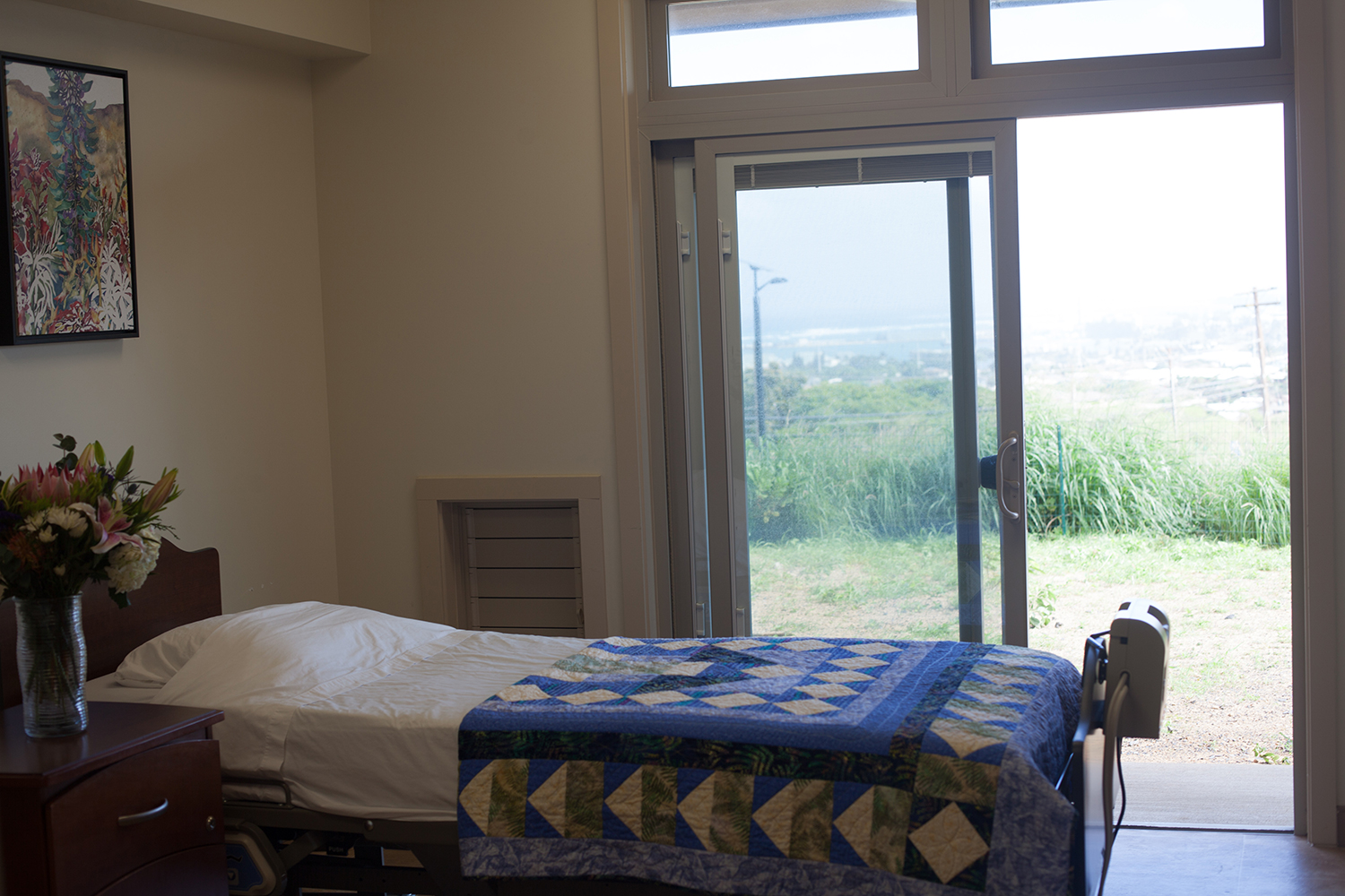 Patient Bedroom with a View