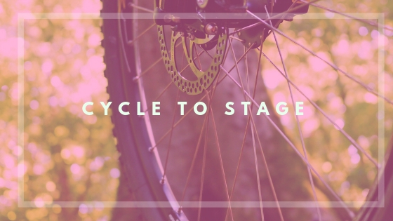 What is Cycle to Stage?:   Cycle to Stage  is a theatre production class culminating in a live performance. This is a completely customizable class, available to all grade levels, focusing on the subject matter most important for your students.