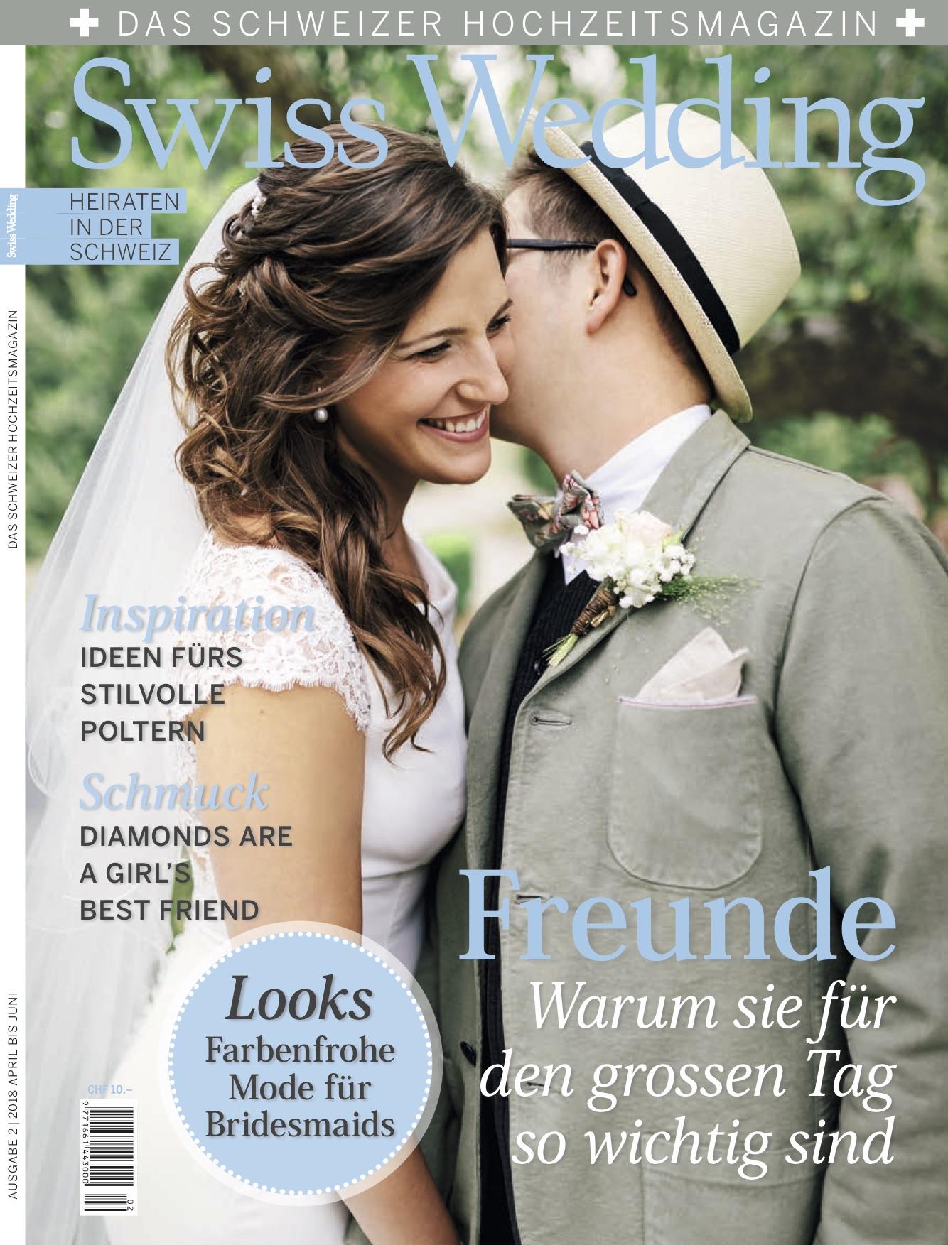 Swiss Wedding - Das schweizer Hochzeitsmagazin