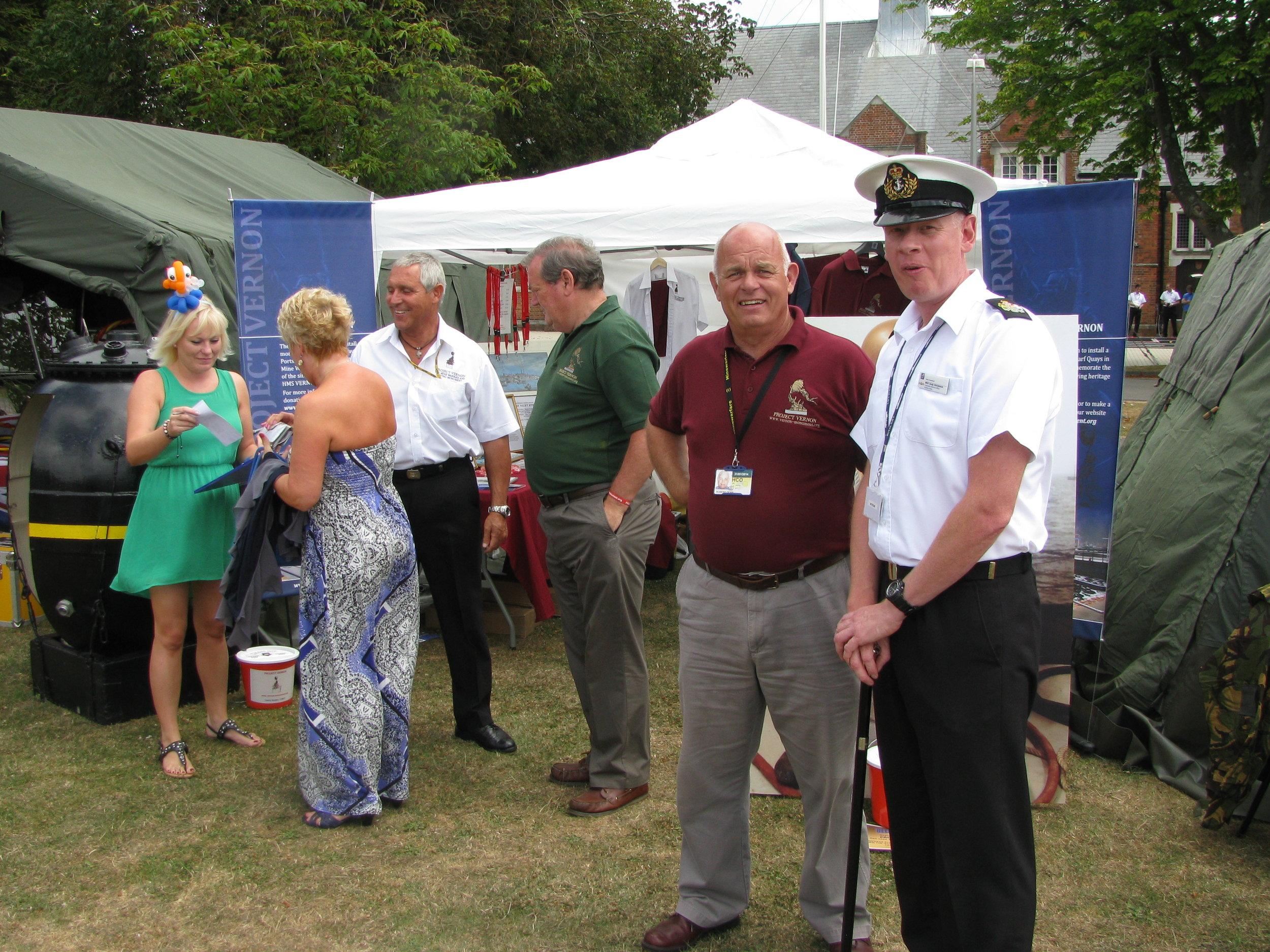 HMS Excellent Families Day 25 Jul 2013 034.jpg