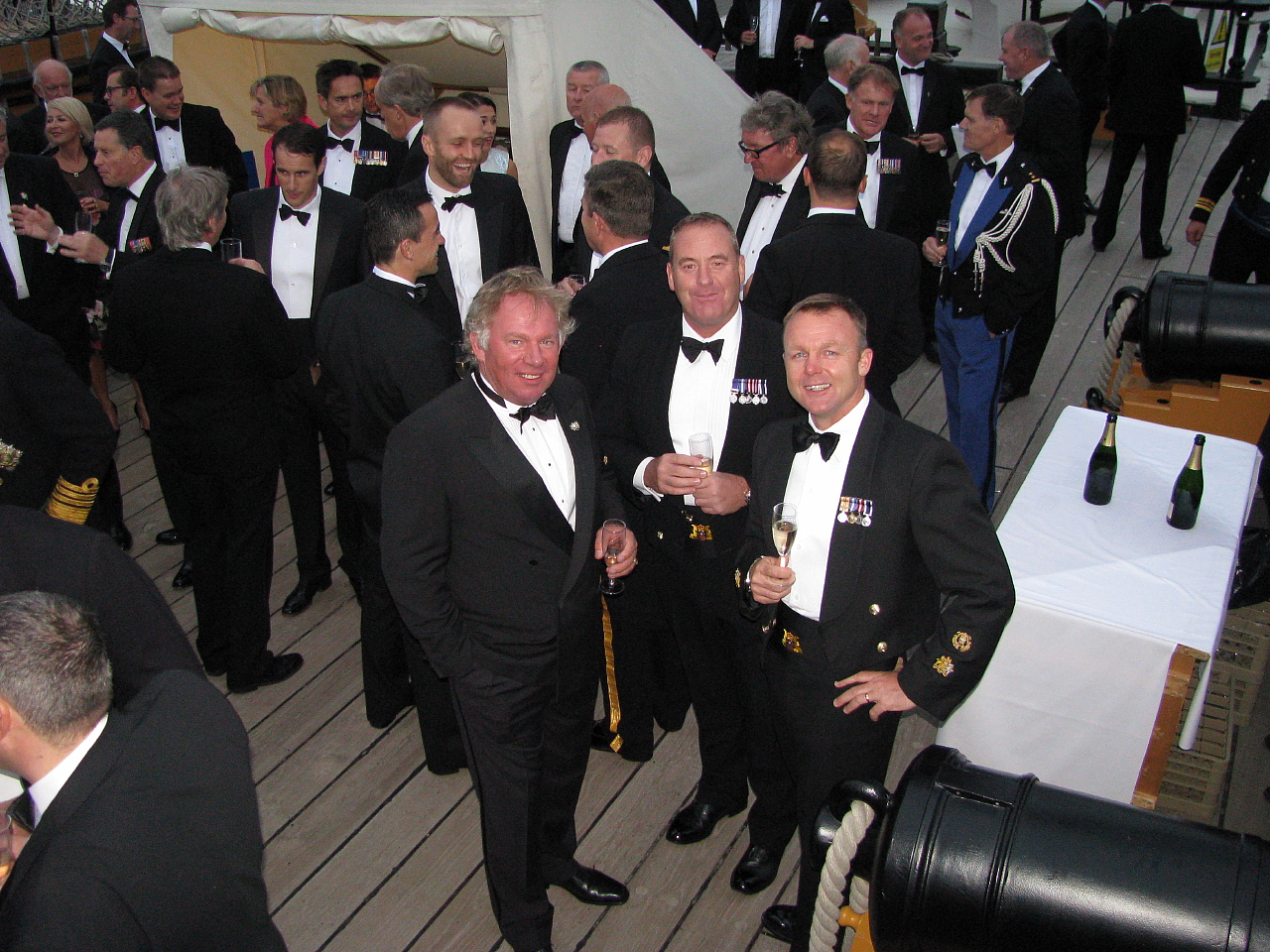 Project Vernon charity dinner on board HMS Victory 11 Sep 2014 (46).jpg
