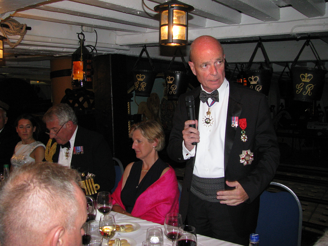 Project Vernon charity dinner on board HMS Victory 11 Sep 2014 (70).jpg