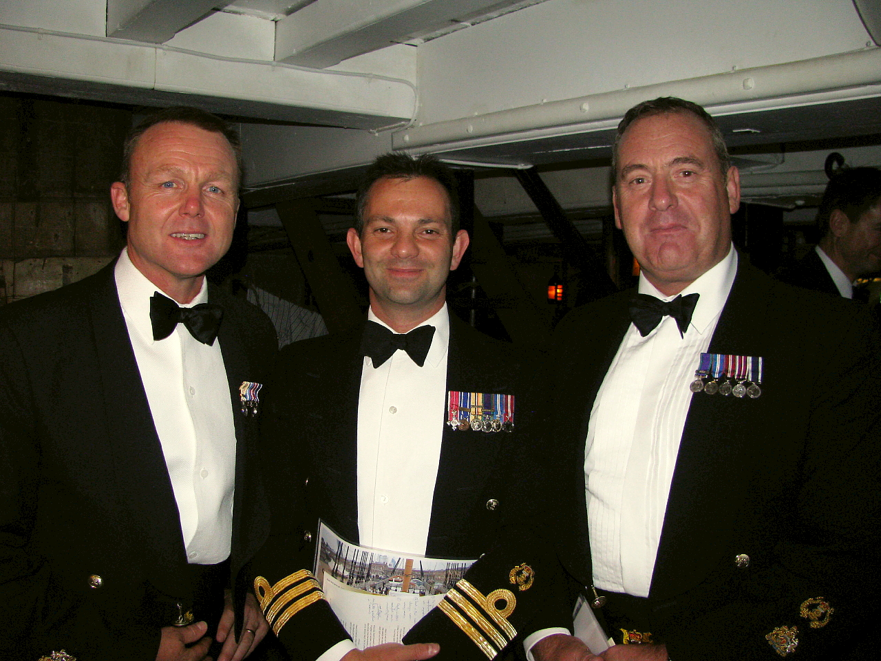 Project Vernon charity dinner on board HMS Victory 11 Sep 2014 (105).jpg
