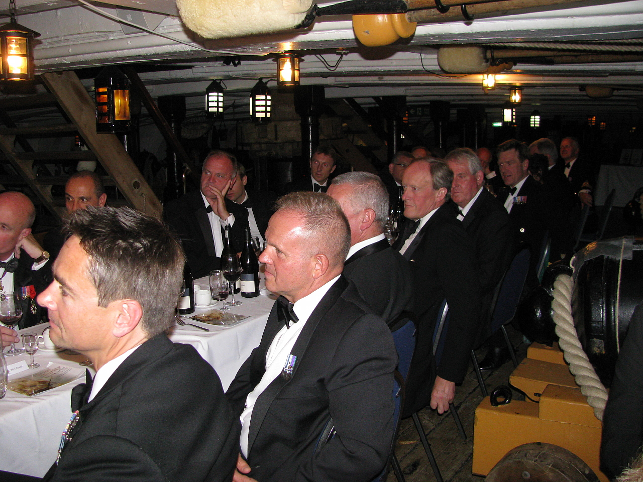 Project Vernon charity dinner on board HMS Victory 11 Sep 2014 (83).jpg