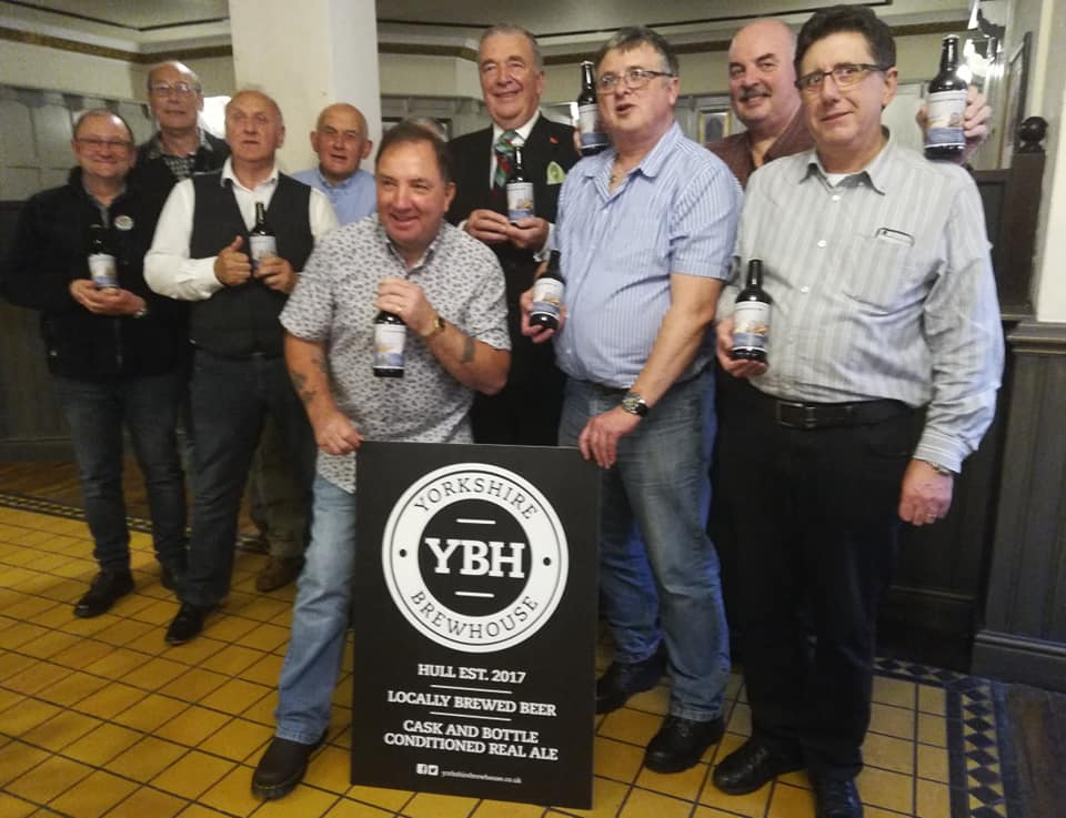 Some of the attendees at the recent 11th MCM Squadron reunion in Hull