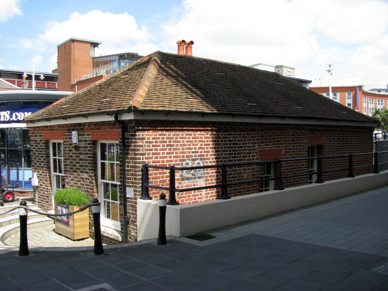 The Old Guardhouse (aka Lock Keeper's Cottage) at Gunwharf Quays (formerly HMS VERNON)
