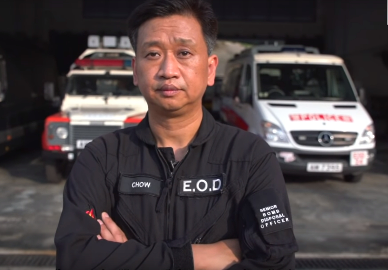 Tony Chow - CO Hong Kong Police EOD Team