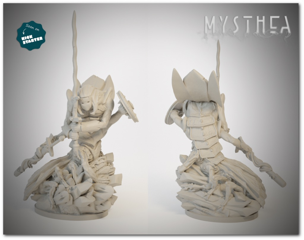 The biggest miniature of the game! Onygauros the Collectors