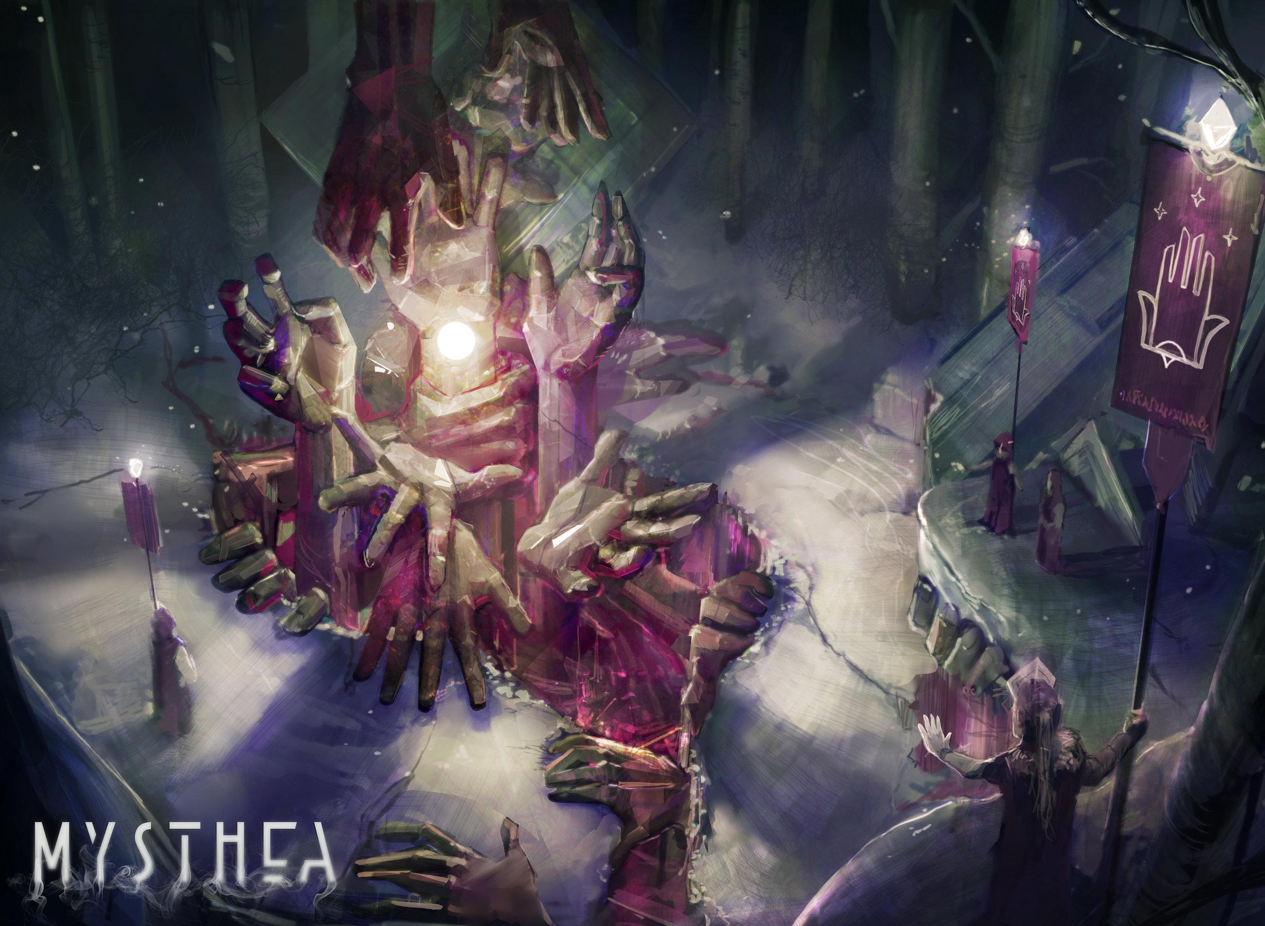 Lusma, guild of faith. The 5th guild of Mysthea